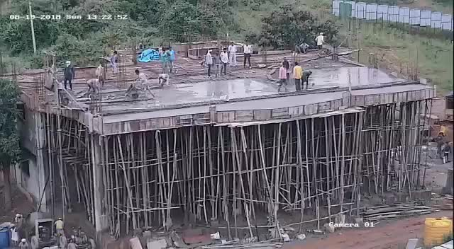 Watch Building Construction Accident | theYNC GIF on Gfycat. Discover more related GIFs on Gfycat