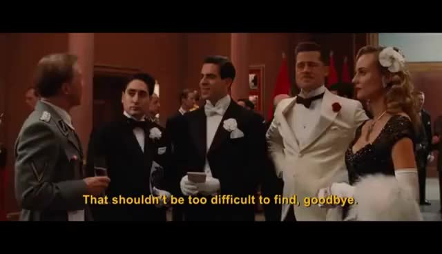 Watch brad pitt arrivederci GIF on Gfycat. Discover more related GIFs on Gfycat