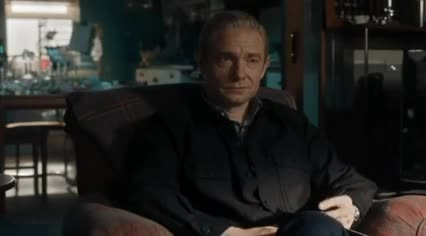 Watch and share Martin Freeman GIFs by kiraholmes on Gfycat