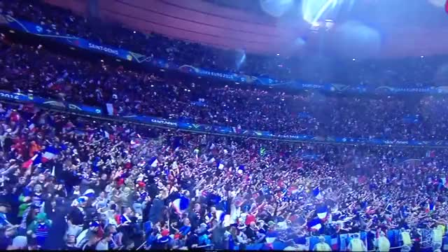 Watch Iceland's last Viking´s chant of Euro 2016 after France 5 2 Iceland GIF on Gfycat. Discover more football, goal, highlights GIFs on Gfycat