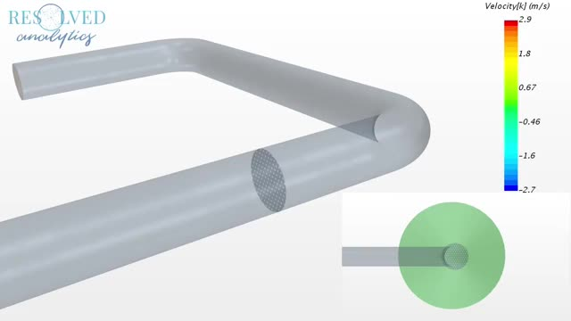 Watch and share CFD Simulation Of Perforated Plate Flow Conditioner In A Pipe GIFs on Gfycat