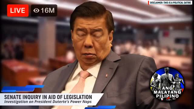 Watch Day 1 of SENATE INQUIRY in aid of LEGISLATION - Investigation on Duterte's Powernaps (satire) Drilon GIF on Gfycat. Discover more DDS, Filipino, Pinay, bitag, drilon, duterte, kapamilya, kapuso, noynoy, parody, philippines, pinoy, pnoy, powernap, pulitika, satire, senado, senate, tagalog, trillanes GIFs on Gfycat