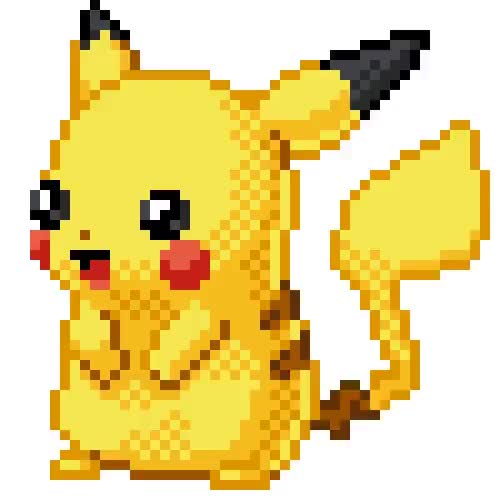 Watch and share Pikachu GIFs by pixelworldnetwork on Gfycat