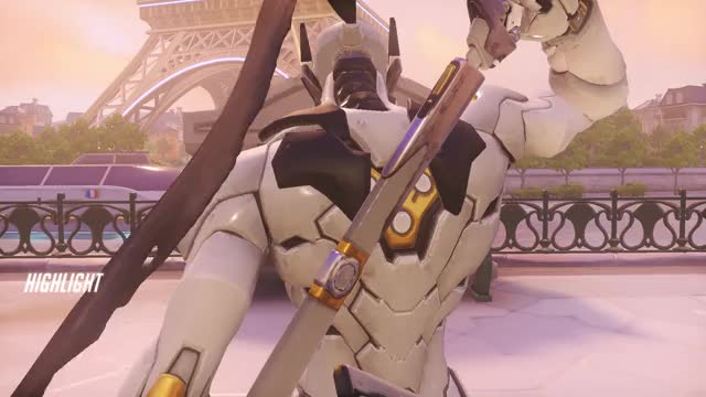 Watch and share Highlight GIFs and Overwatch GIFs by Genji Play of the Games on Gfycat