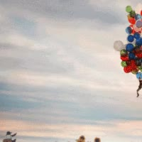 Watch and share Balloons Sunflowers Animated GIFs on Gfycat
