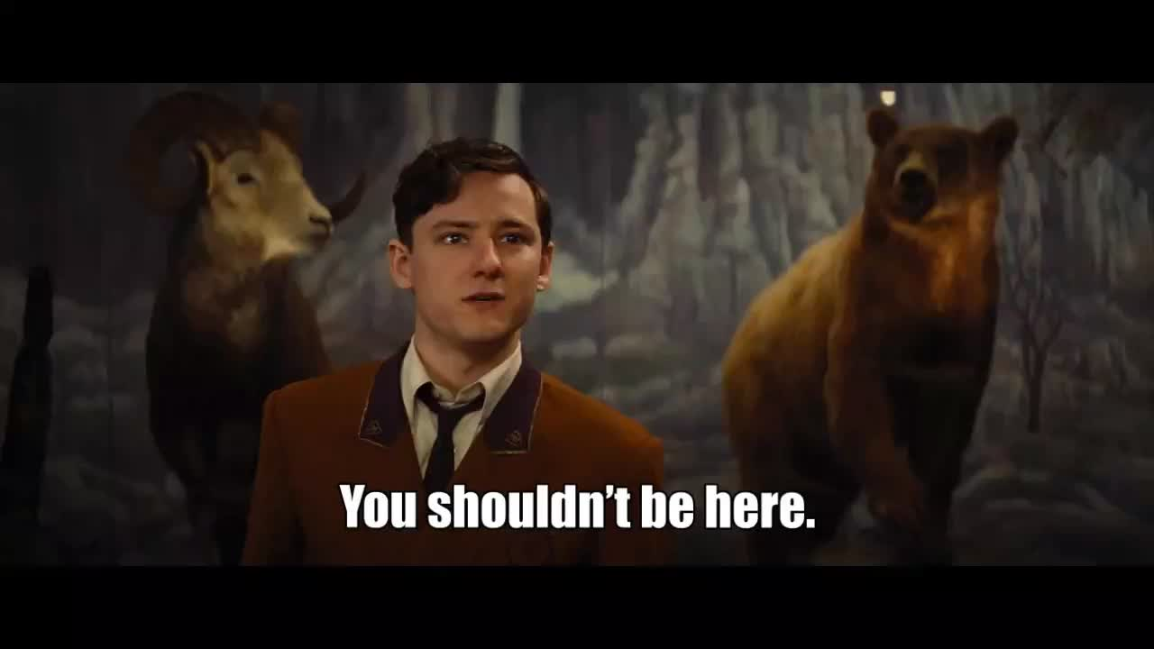 bad times at the el royale, You shouldn't be here GIFs
