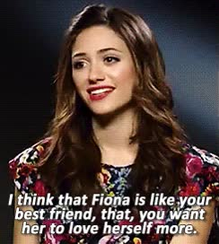 Watch and share Emmy Rossum GIFs on Gfycat