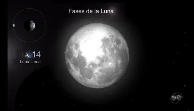 Watch and share Las Fases De La Luna - Los Nodos Lunares - Mes Sinódico - Mes Sideral - Eclipses - Cara Oculta Luna GIFs on Gfycat