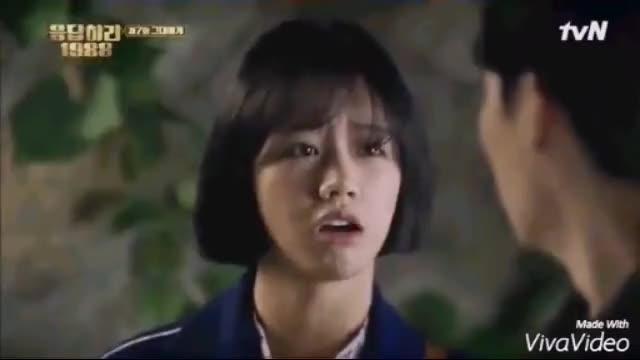 Watch and share 응답하라 1988 류준열 혜리 Junghwan & Deok Seon GIFs by cactussy on Gfycat