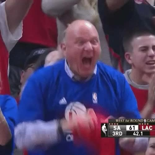 Watch Steve Ballmer Screams Playoffs GIF on Gfycat. Discover more related GIFs on Gfycat