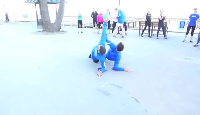 Watch and share 100+ PARTNER EXERCISES In 7 Minutes GIFs on Gfycat