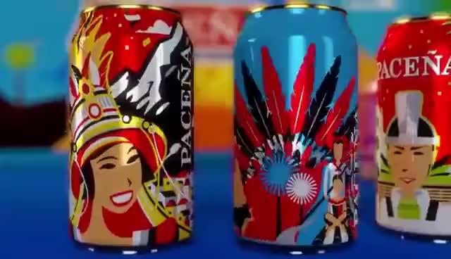 Watch and share Cerveza Paceña Latas De Edición Limitada Carnaval Boliviano 2016 GIFs on Gfycat