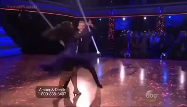 Watch Derek Hough and Amber Riley Foxtrot GIF on Gfycat. Discover more Amber Riley, Dancing With the Stars, Derek Hough, Foxtrot GIFs on Gfycat
