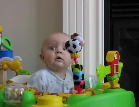 Watch Cute Baby GIF on Gfycat. Discover more baby, cute, laugh, scared, sneeze GIFs on Gfycat