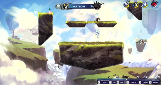 Watch and share Brawlhalla 2021-04-12 16-39-44 GIFs by Donnell on Gfycat
