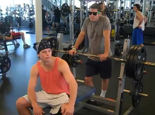 frat, working out, frat bro GIFs