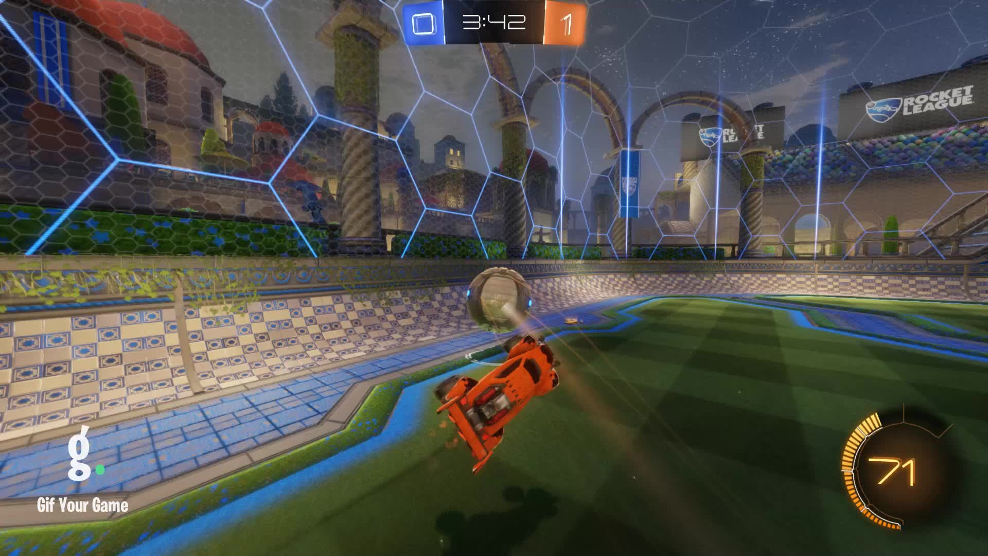 Assist, FallingSky, Gif Your Game, GifYourGame, Rocket League, RocketLeague, Assist 1: FallingSky GIFs