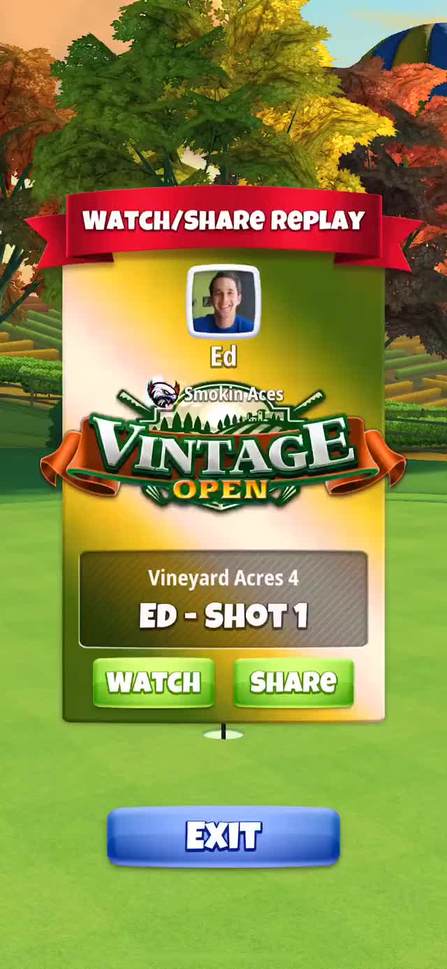 Watch and share Vintage Open - Masters Hole 1 - Q2 Drive GIFs on Gfycat