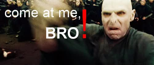 Watch and share Voldemort GIFs and Bro GIFs on Gfycat