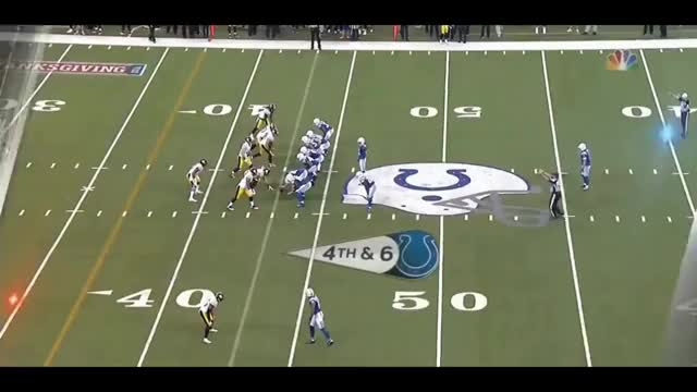 Watch Pat McAfee Finds Erik Swoope For 35 Yard Pass On Fake Punt || Week 12 Colts vs Steelers GIF on Gfycat. Discover more 2017, Are, Conor, Down, Eric, McAfee, Walk, celebration, fake, indianapolis, nfl, pat, people, punt, punters, puntersarepeopletoo, season, strutting, too, trick GIFs on Gfycat