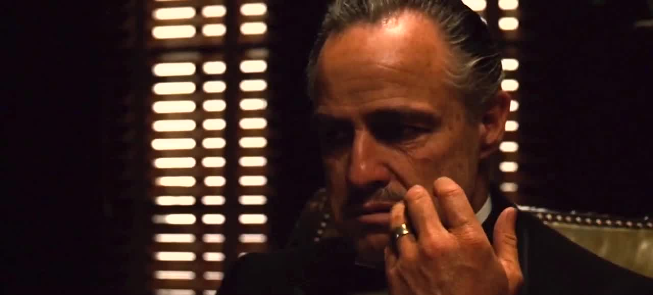 annoyed, godfather, marlon brando, over it, whatever, Godfather whatever GIFs