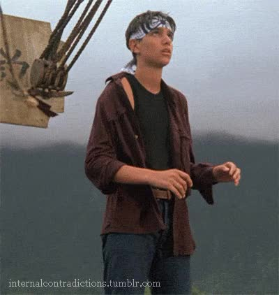 Watch and share My Daniel LaRusso GIFs Ralph Macchio GIFs on Gfycat