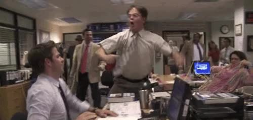 Watch and share Dwight Schrute GIFs on Gfycat