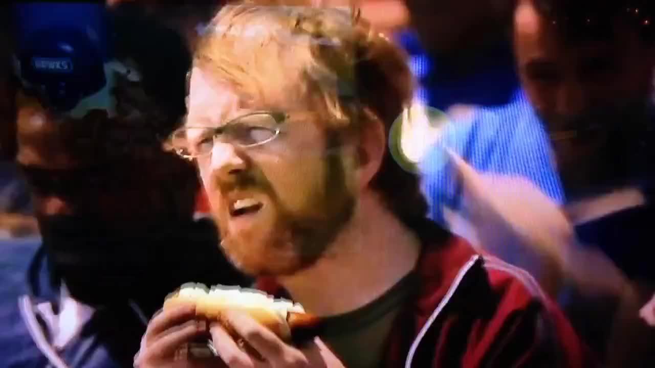 anastasio, brain, buffalo, commercial, food, gamehendge, guitar, hot dog, meatstick, onions, phish, shocks, trey, wild, wings, Trey Anastasio eating a Hot Dog GIFs