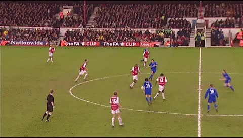 Watch and share Thierry Henry. Arsenal - Chelsea. 2002-03 GIFs by fatalali on Gfycat