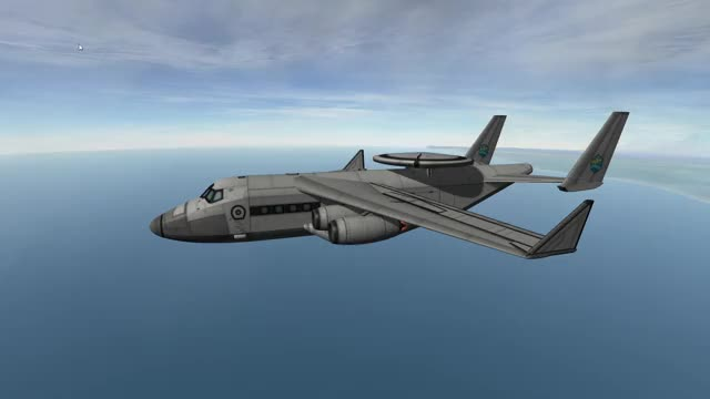 Watch and share KC-30AW Pelican AWACS GIFs by SnacklessKerbal on Gfycat