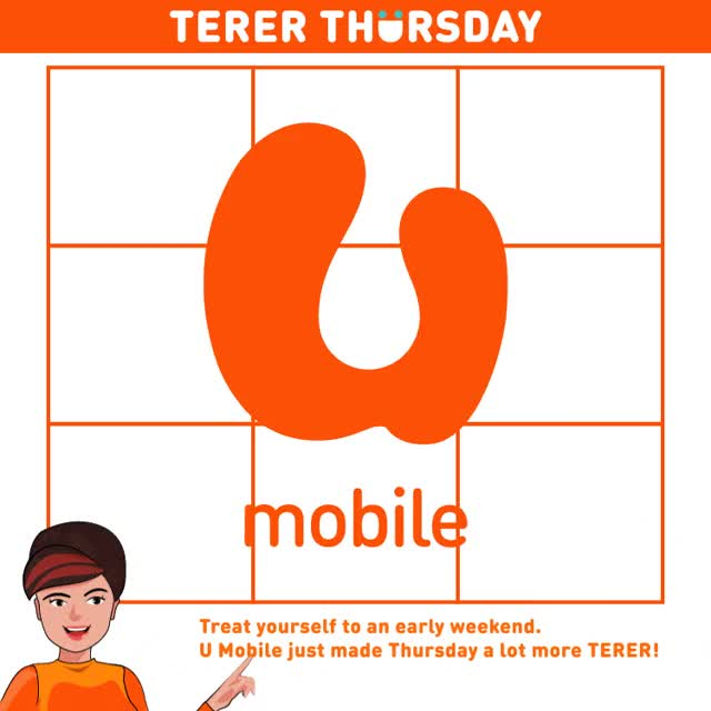 Watch and share U Mobile Unveils TERER THURSDAY Rewards Campaign - Tech ARP GIFs on Gfycat