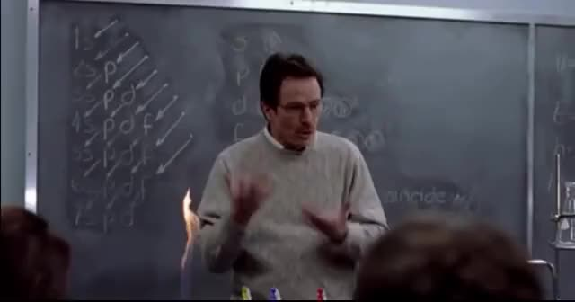 Watch Breaking Bad - Chemistry Class GIF on Gfycat. Discover more related GIFs on Gfycat