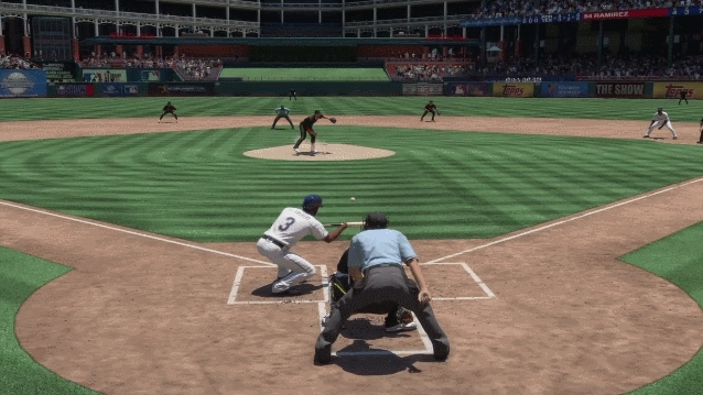 mlbtheshow, Prince Fielder gives up a double play due to base running laziness. (reddit) GIFs