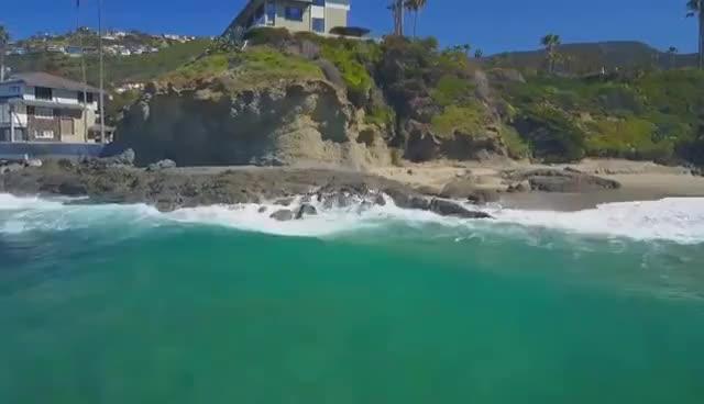 Watch DJI Mavic Pro | Laguna Beach GIF on Gfycat. Discover more related GIFs on Gfycat