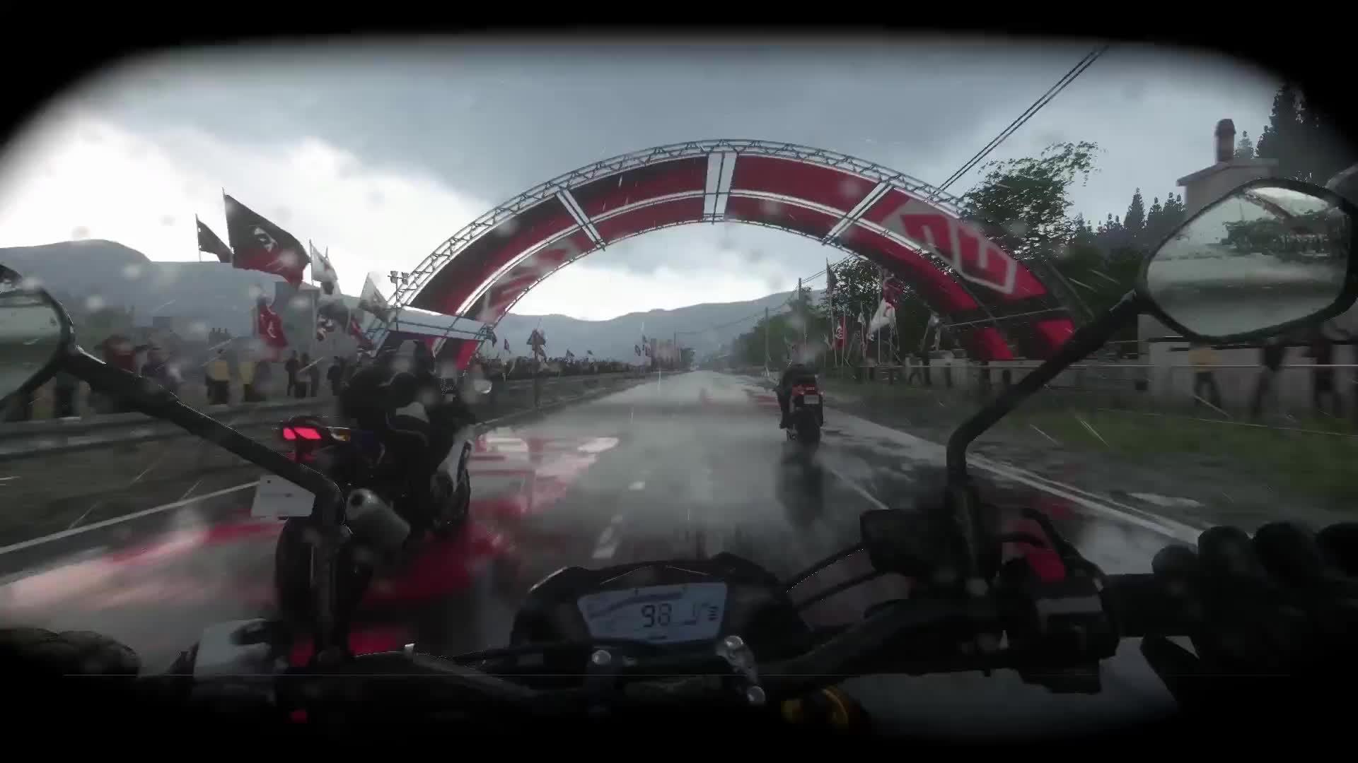 DriveClub Bikes in the Rain GIFs