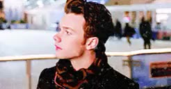 Watch and share Merry Christmas Eve GIFs and Kurt Hummel GIFs on Gfycat