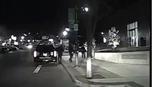 Watch and share Sooners QB Baker Mayfield Tackled By Police During Public Intoxication Arrest GIFs on Gfycat