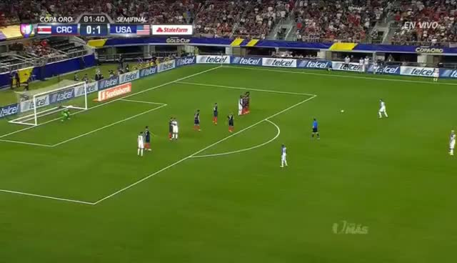 Clint Dempsey Goal Against Costa Rica GIFs