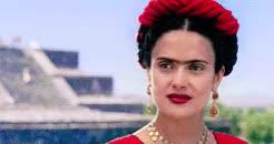 Watch and share Frida Kahlo GIFs and Salma Hayek GIFs on Gfycat