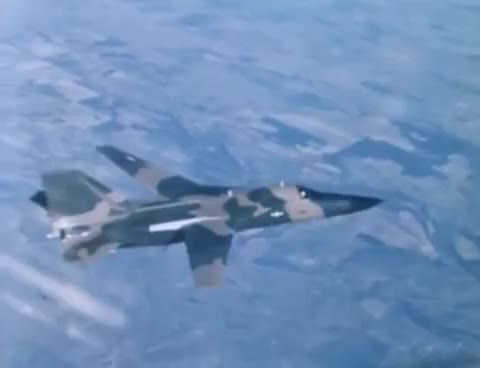 """Watch and share F-111 Swing Wing: """"Variable Wing Sweep Mechanism Demonstration"""" ~1965 General Dynamics; JQ Music GIFs on Gfycat"""