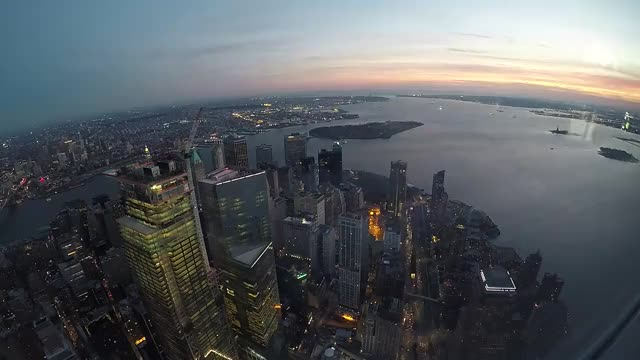 Watch and share Newyork GIFs and Sunset GIFs by geniusstorm on Gfycat