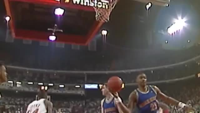 new product e5dfe aeb85 Watch Michael Jordan s Seven Straight Triple-Doubles GIF on Gfycat.  Discover more basketball,