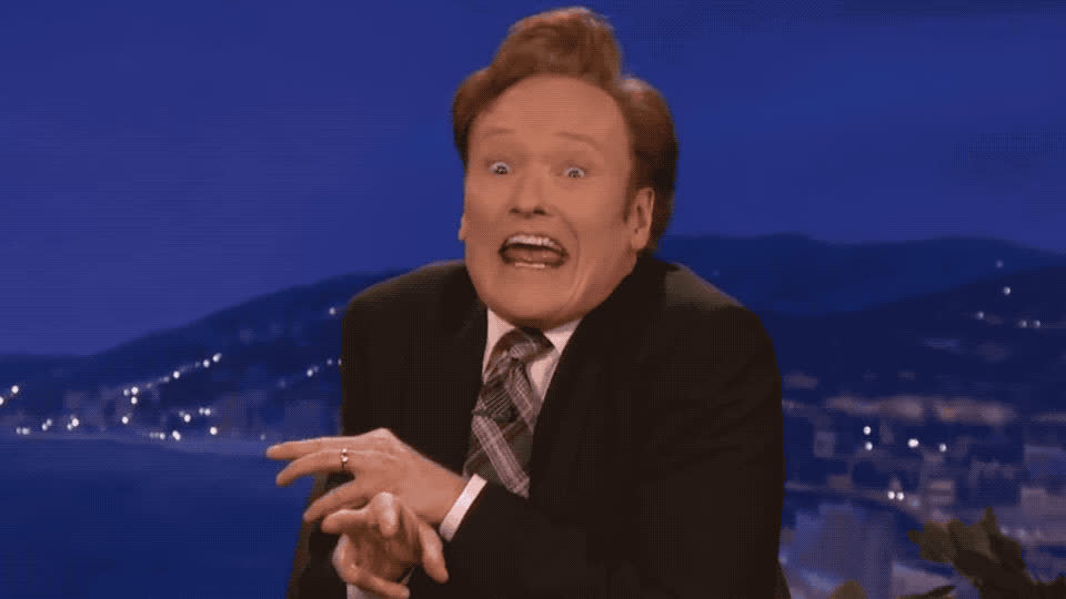 I, aha, conan, epic, flirt, flirting, flirty, funny, gotcha, know, lol, mean, o brien, obrien, sexy, vampire, what, wink, winking, you, Funny Conan - Wink GIFs
