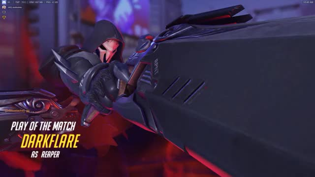 Overwatch reaper play of the game video