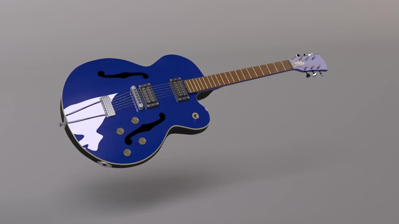 3d, 3dsmax, vray, Guitar Render (3DS Max) GIFs
