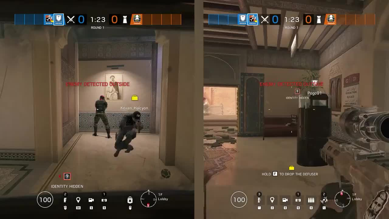 Hitbox Affected By Extreme Crouch Spam Lag Rainbow Six Siege