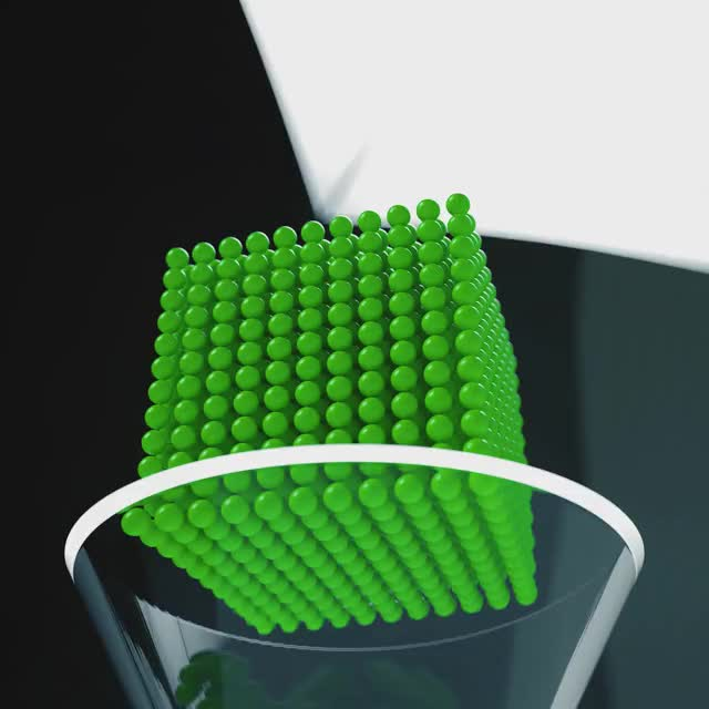 Watch and share Green Balls GIFs and Simulation GIFs by Samuel Rodrigues on Gfycat