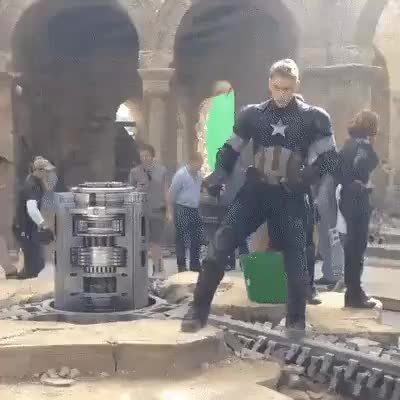Captain Americas stunt double GIFs