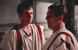Watch this james purefoy GIF on Gfycat. Discover more Ciaran Hinds, Gaius Julius Caesar, James Purefoy, Julius Caesar, Marcus Antonius, Mark Antony, Rome, Rome HBO, history GIFs on Gfycat