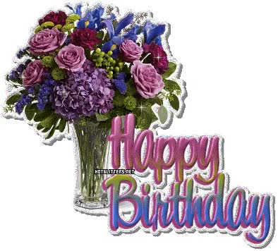 Watch birthday flowers 6188?t1241808935 - Sheem Jano Birthday 9 May :x :x :x GIF on Gfycat. Discover more related GIFs on Gfycat